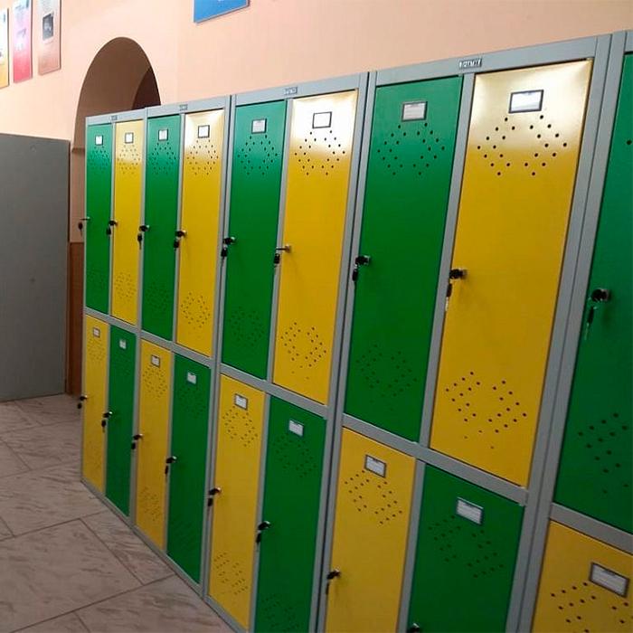 Шкафы для школьной раздевалки