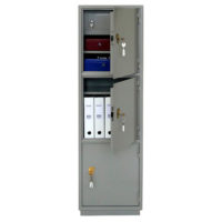 КБ-033Т/КБС-033Т Металлический бухгалтерский шкаф