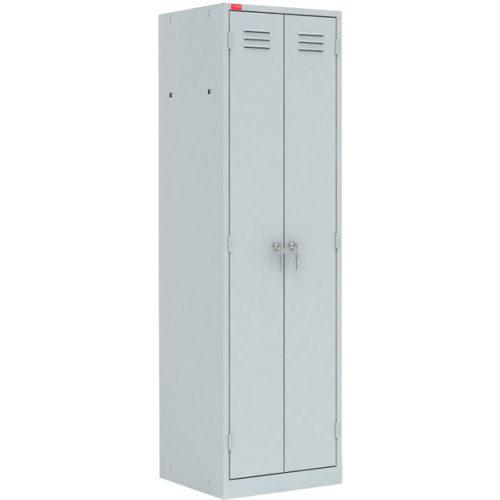ШРМ-АК/800 Шкаф металлический разборный двухсекционный для хранения одежды