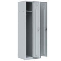 ШРМ-22-М/800 Шкаф металлический разборный двухсекционный для одежды