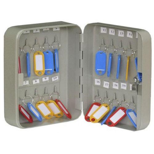 КС-20 Металлический шкаф для 20 ключей