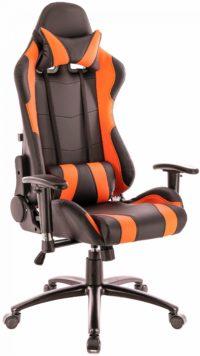Lotus S2 Экокожа Черный/Оранжевый