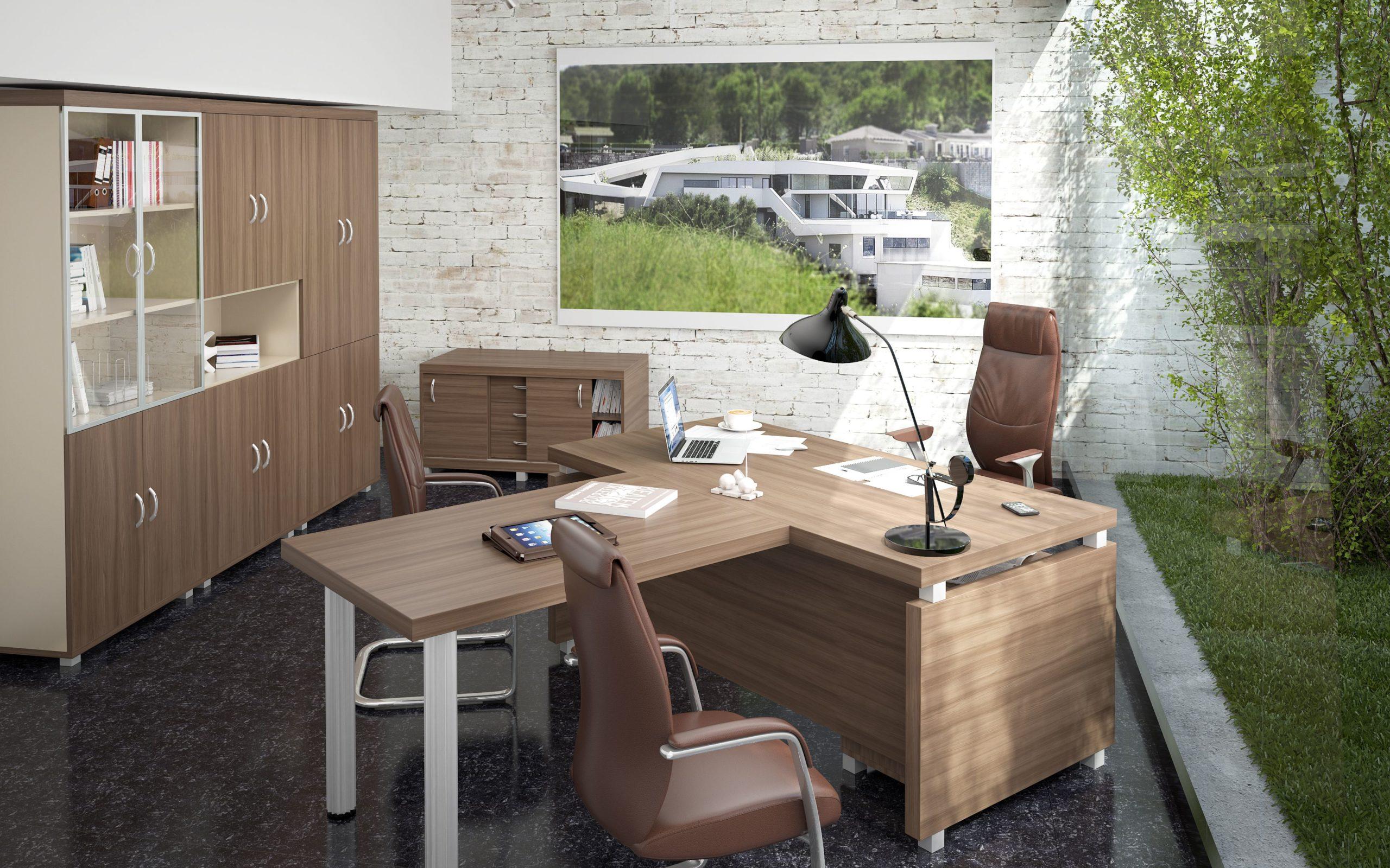 Мебель для кабинета Модерн Монолит
